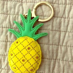 Kate Spade Pineapple Keychain